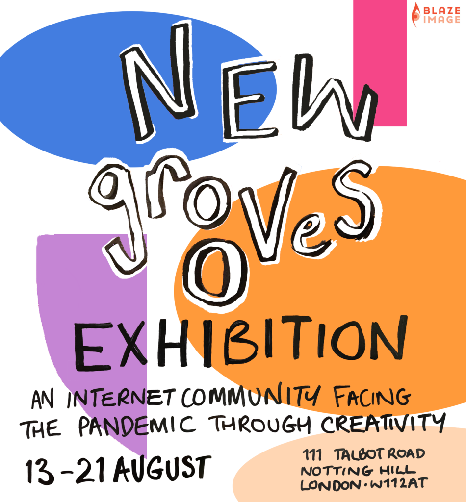 New Grooves Exhibition in Notting Hill information poster