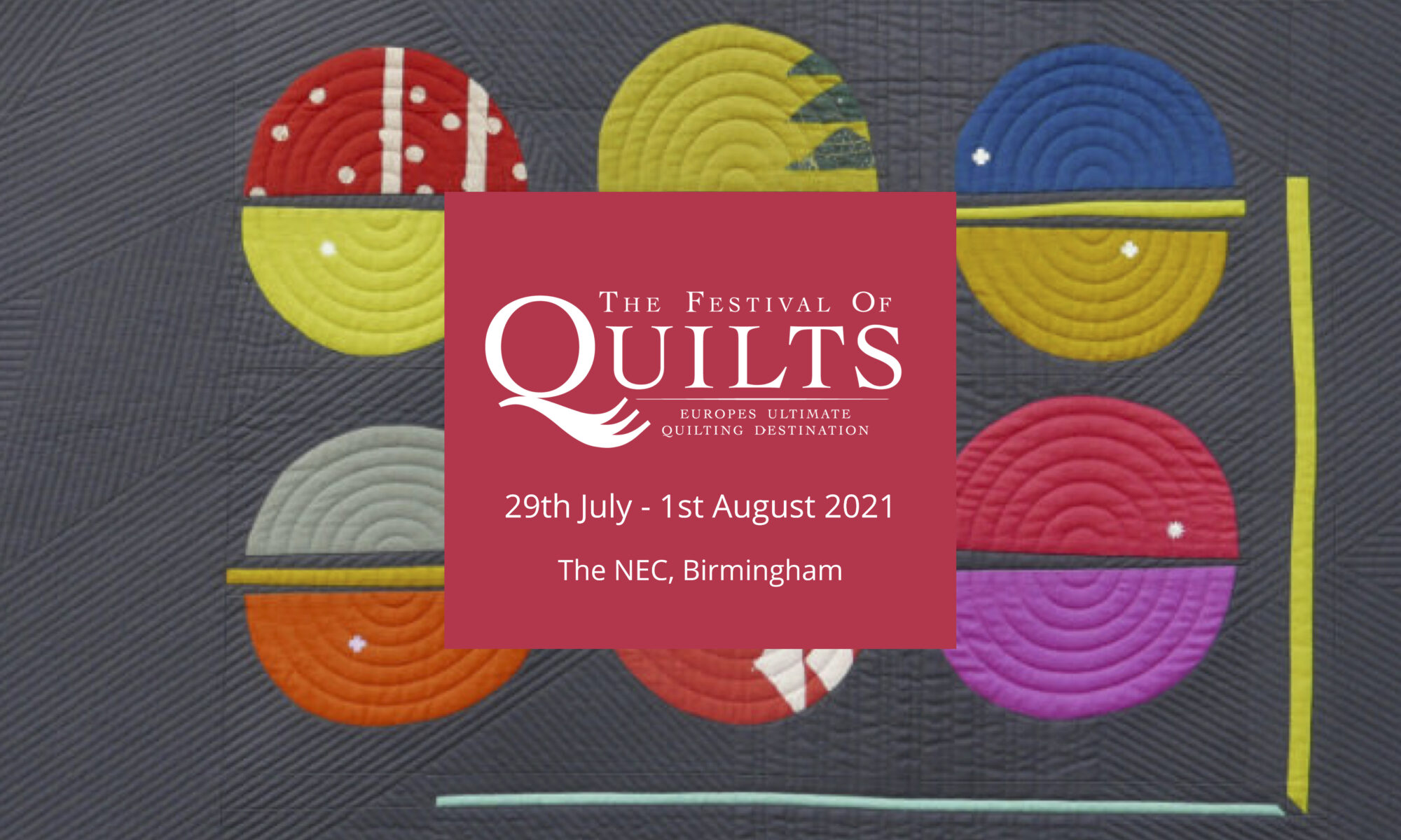 Festival of quilts logo