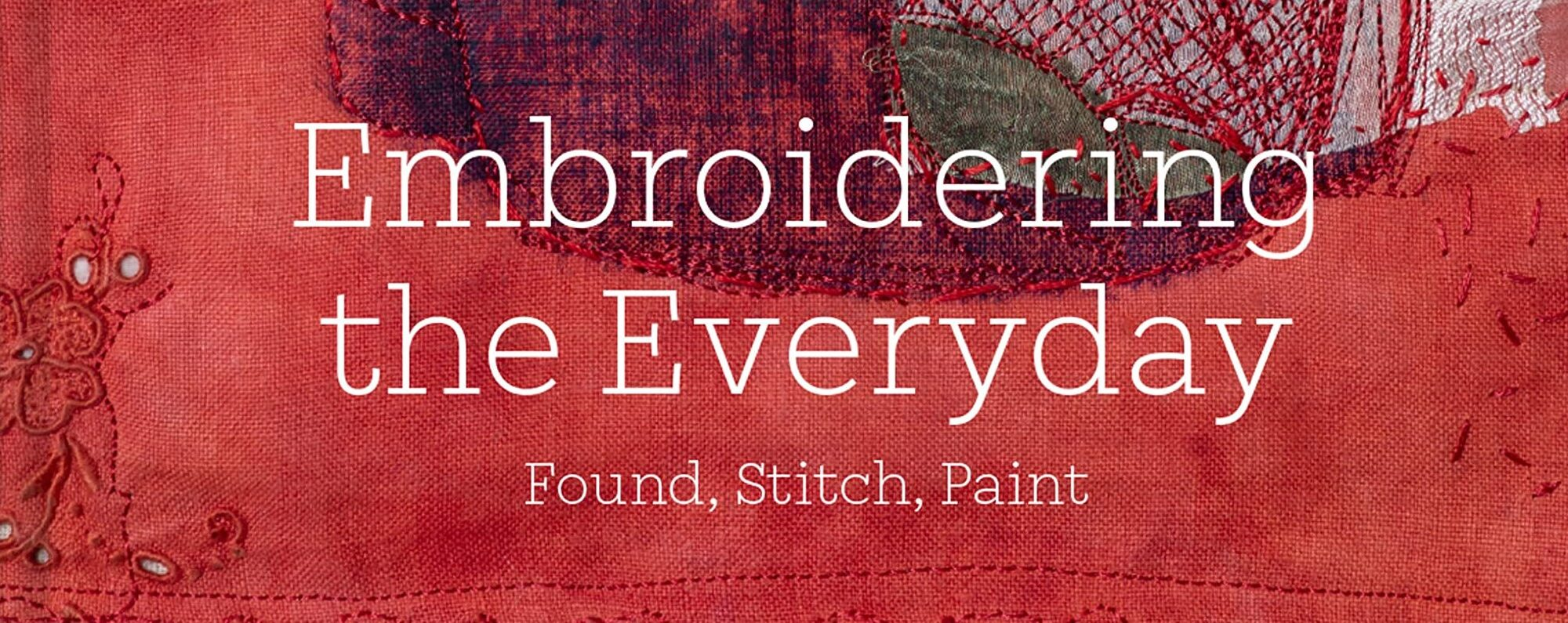 Embroidering the Everyday book cover - wording