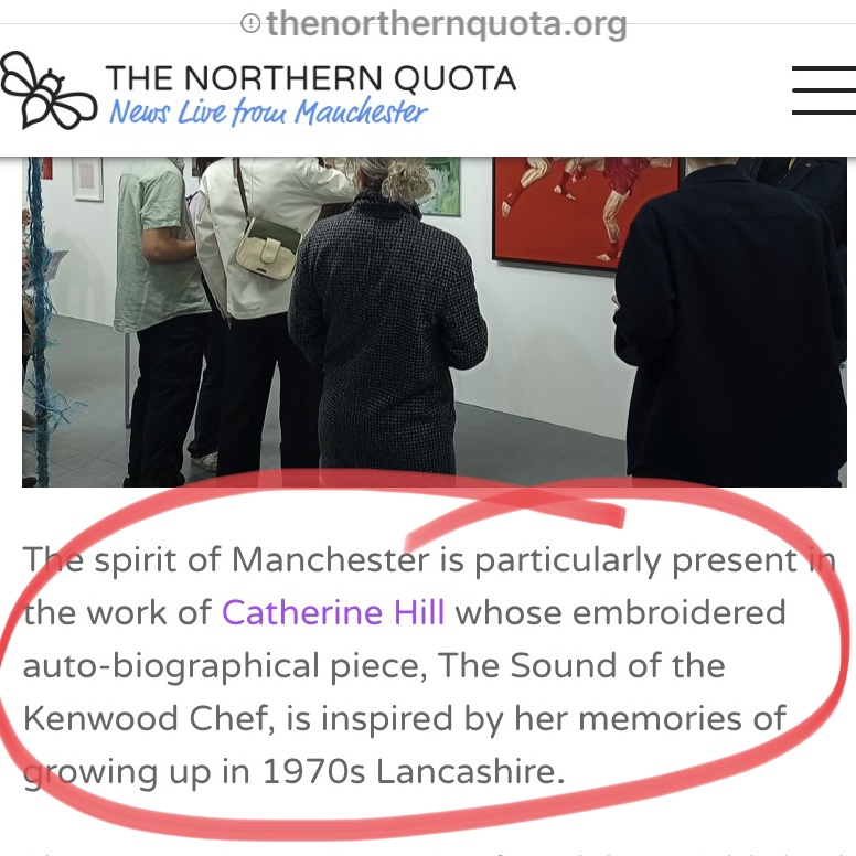 review of the exhibition